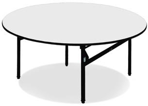 Apvalus banketinis stalas